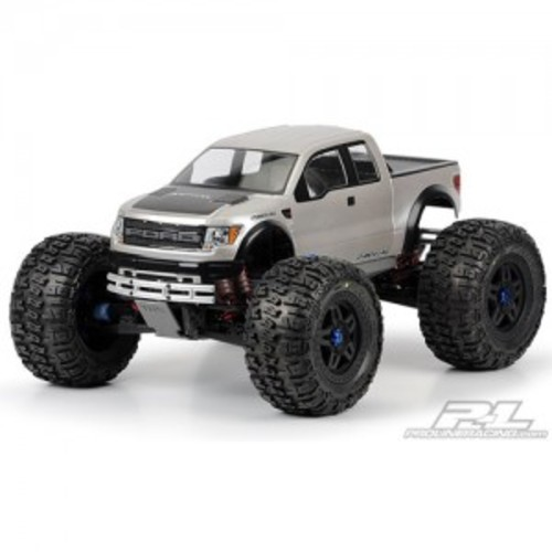 AP3345 Ford F-150 SVT Raptor Clear Body for E-MAXX 3903 & 3905 E-REVO T-MAXX 3.3 REVO 3.3 & MGT & MT410 & 서밋