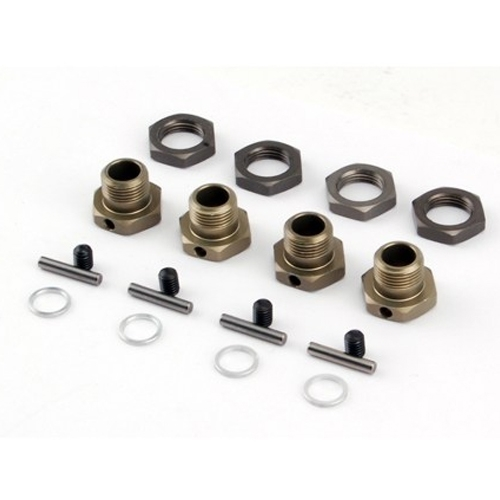 Losi 17mm Hex Adapter Set (4): LST2, MUG,XXL-2