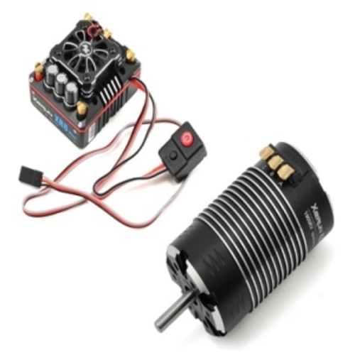 [최고급]Xerun XR8-PLUS ECS/4268SD 1900kv Black G2 Motor Combo set (1/8 Sensord모터변속기 세트)