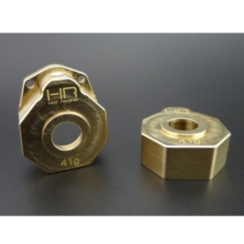 TRXF21HC Brass Heavy Metal Knuckle portal Gear Cover TRX4 (AX8251)