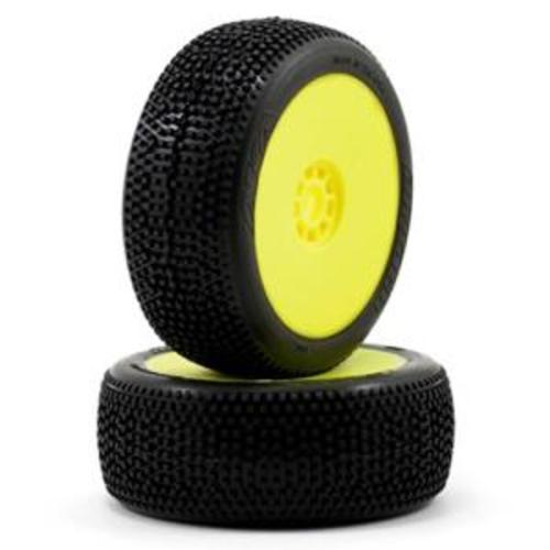 1:8 BUGGY IMPACT (SOFT - LONG WEAR) EVO WHEEL PRE-MOUNTED YELLOW  // 재고 유무 확인은 항시 연락 부탁드립니다.