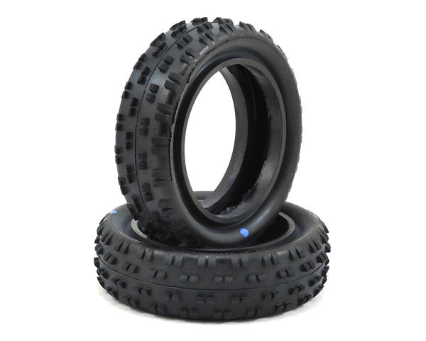 "한시적 할인 ~Schumacher ""Cut Stagger"" Low Profile 2.2"" 1/10 2WD Buggy Front Tires (2) (Blue) SCHU6776 // 2륜버기 프론트타이어"