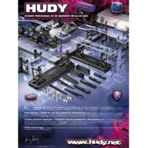 HUDY EXCLUSIVE ALU SET-UP SYSTEM FOR 1/8 OFF-ROAD CARS & TRUGGY  108805