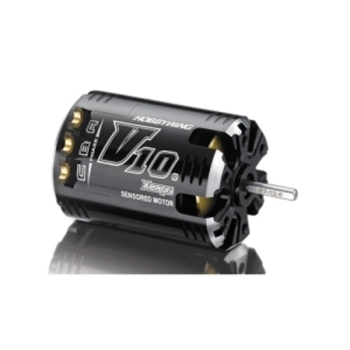 최고급모터:XERUN-V10-6.5T-BLACK V10 G2 Sensored Brushless Motor (5000KV)   30101103