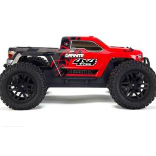 ARRMA 1/10 GRANITE 4x4 MEGA Monster Truck RTR (Red)  AR102676