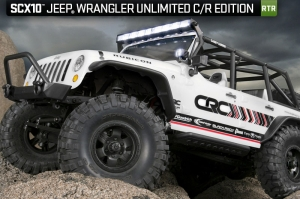 Axial SCX10 Jeep® Wrangler Unlimited C/R Edition 1/10th Scale RTR