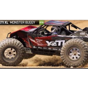 입고완료 )Axial YETI™ X-LARGE MONSTER BUGGY 1/8th Scale Electric 4WD - RTR