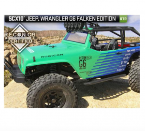 Axial SCX10 Jeep® Wrangler G6 Falken Edition 1/10th Scale Electric 4WD RTR