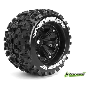 "L-T3219BH MT-UPHILL SPORT Compound / Black Rim / 1/2"" OFFSET 1/8 Scale Traxxas Style Bead 3.8"" Monster Truck(반대분) 레보,써밋,이맥스,세비지,E6"