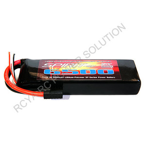 리포3셀 고성능 배터리  11.1V 120C 6500mAh Soft Pack Wire W/TRX Plug