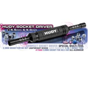 HUDY SOCKET DRIVER 5 MM & 5.5 MM //170005