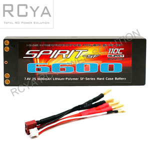 Spirit SF Series 6600mAh (7.4V, 2S2P, 110C)