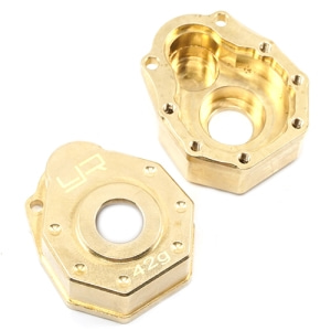 [입고완료] TRX4-019 Brass Front or Rear Portal Cover 42g 2 pcs For Traxxas TRX-4