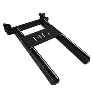 TRXF3201 Aluminum Rear Body Mount with graphite brace TRX-4