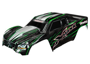 AX7711G Body, X-Maxx, green (painted)