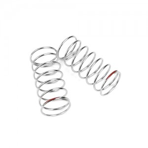 TKR6787 – Shock Spring Set (front, 1.3×7.75, 3.85lb/in, 45mm, red)  / 가장 강한 강도