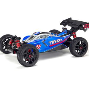 ARRMA 2018 SPECS 1:8 TYPHON 6S BLX Brushless 4WD RTR (BLUE)