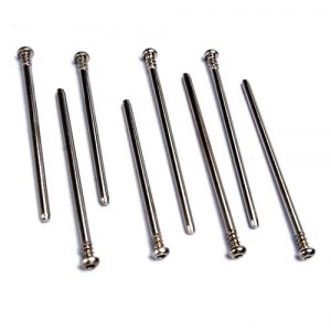 AX5161 Suspension screw pin set hardened steel (hex drive)