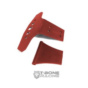 TBR10019R TBR Wide Basher Front Bumper (RED) - ARRMA Talion