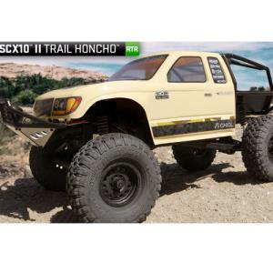SCX10 II™ Trail Honcho 1/10th Scale Electric 4WD – RTR  / SCX2 신형 킷 / AX90059