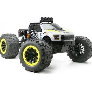 뉴방식이 E6 RAPTOR 1:8 EP 6S Monster Truck RTR - Yellow 505007Y