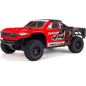 ARRMA 1/10 SENTON 4x4 MEGA Short Course Truck (Red)  AR102667