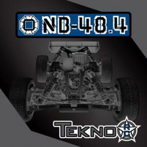 TKR8300 – NB48.4 1/8th 4WD Competition Nitro Buggy Kit - 입고완료 -