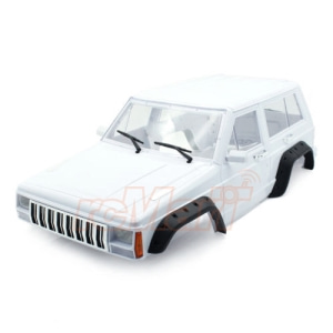 XS-59757 Xtra Speed Cherokee XJ ABS Hard Plastic Body Kit 313mm w/ Interior Kit For Axial RC4WD