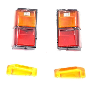 XS-59697 Xtra Speed Rear Lamp Lens Print Edition Body Accessories For Axial SCX10 II Cherokee XJ Hard Body