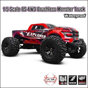 1/5 8S 4WD Explorer Brushless RTR Monster Truck(익스 플로러)-레드   940908R