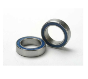 AX5119 Ball bearings blue rubber sealed (10x15x4mm) (2)