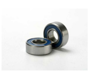 AX5116 Ball bearings blue rubber sealed (5x11x4mm) (2)