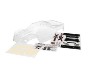 AX7711 Body X-Maxx (clear trimmed requires painting)/ window masks/ decal sheet