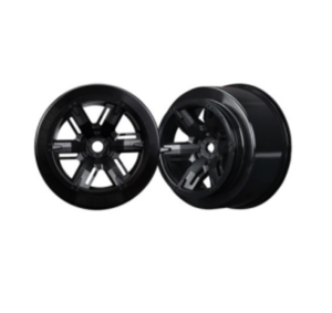 AX7771 Wheels, X-Maxx, black (left & right)