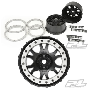 AP2763-03 Impulse Pro-Loc Black Wheels with Stone Gray Rings