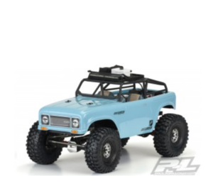 [AP3505] 1/10 Pro-Line Ambush Clear Body with Ridge-Line Trail Cage - (313mm) Wheelbase Scale Crawlers