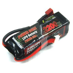 V2-PC-111220035 NEW POWER CORE Li-po Battery 11.1v 3S1P 2200mah 35c