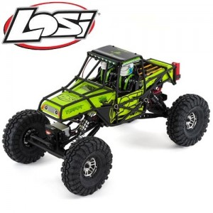 [LOS03015T2] 신형 Night Crawler SE, Green: 1/10 4wd Rock Crawler RTR (산악용 전동차량)