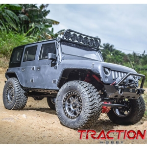 1/8 대형라클 트랙션하비 파운더 Traction Hobby Founder 1:8 4WD TRAIL CRAWLER