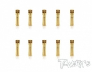 4mm Male Battery Connector (10pcs.) (#EA-028-4M-10)