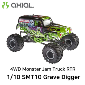 AX90055 AXIAL 1/10 SMT10 Grave DiggerMnsterJam Truck 4WD