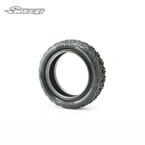 1/10 taper pin wide 4wd front blue com carpet tire (4륜 프론트 전용 타이어, 이너폼 포함) //SW-134BP