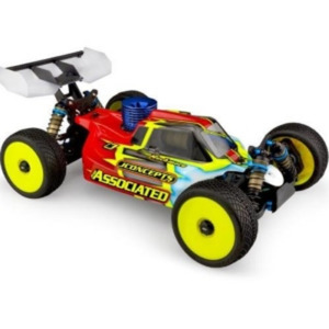 JConcepts – Silencer RC8B3.1 Body (Clear)