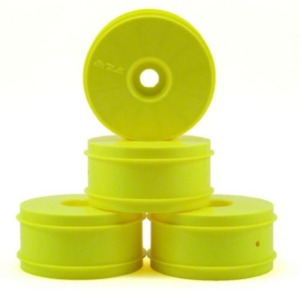 1/8 Buggy Dish Wheel, Yellow (4): 8B 3.0,4.0 휠   TLR44000