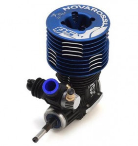 판매율통합 1위엔진!~ Novarossi S21P5XLT 5 Port .21 Off Road Engine (Turbo Plug) (Blue Cooling Head)