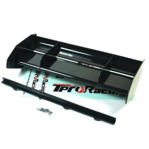[TP-100003BK] TPRO 1/8 Off Road Formula Race Wing Kit with Origional Brand Decal (BK)