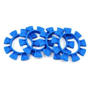 JConcepts - Satellite tire gluing rubber bands - blue - fits 1/10th, SCT and 1/8th buggy  2212-1