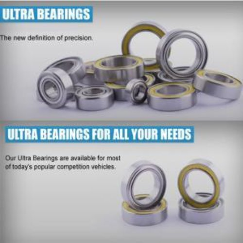 Ultra Bearing 6x13x5mm (4pcs) RDRPB686