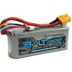 Turnigy Bolt 1300mAh 4S 15.2V 65~130C High Voltage Lipoly Pack (LiHV) [9210000159-0]