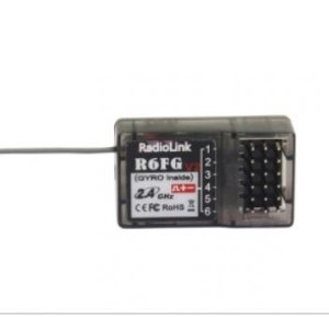 6 Channels receiver with gyro function (#R6FG)